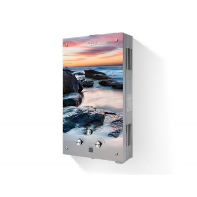 Водонагреватель проточный газовый Oasis Glass 20MG